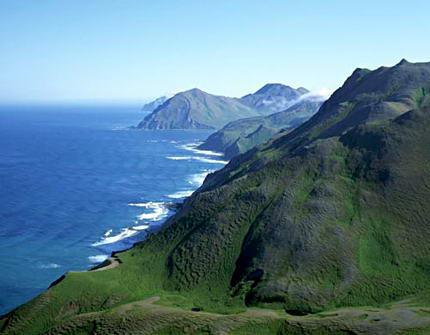 Командорские и Курильские острова