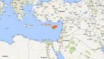Кипр на карте мира