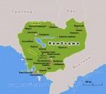 Карта Камбоджа