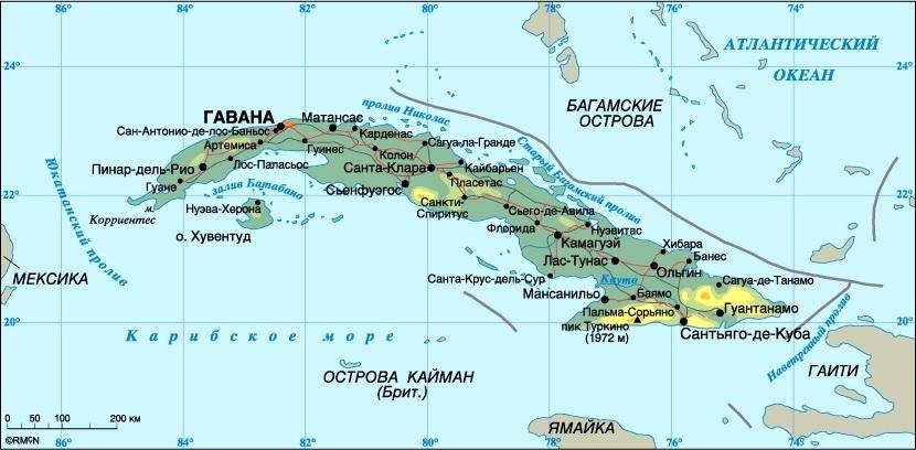 Karta Kuby