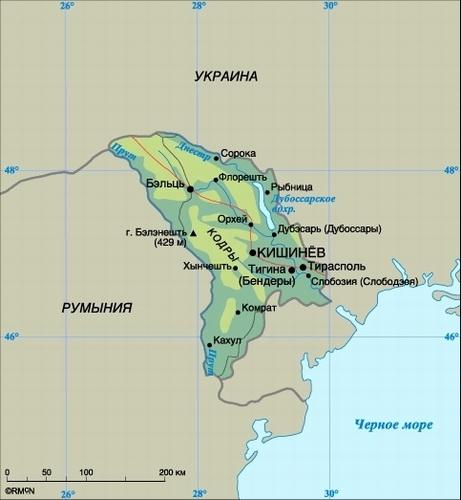 15 % территории Молдовы покроют лесом к 2020 году