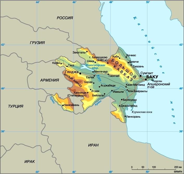 Karta Azerbajdzhana