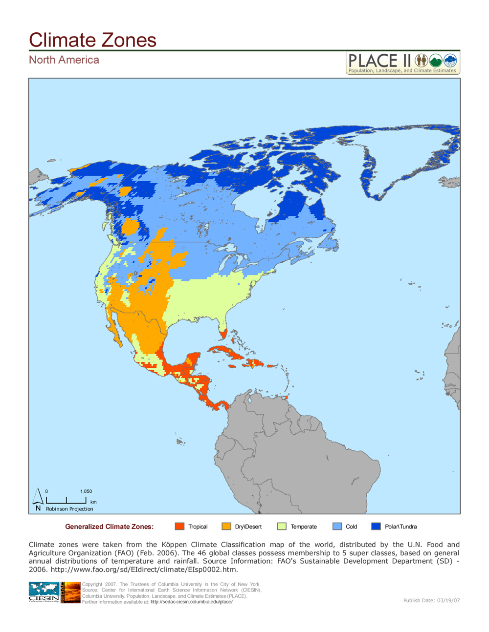 north america köppen map - 736×952