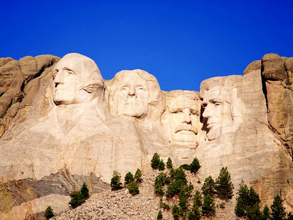 Президенты США на горе Рашмор