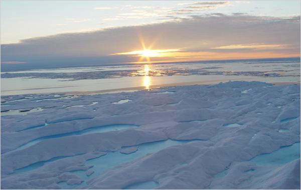 особенности климата северно ледовитого океана