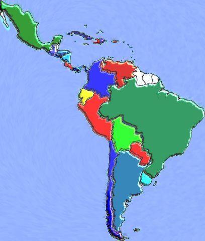 главные страны Южной Америки Три главные страны Южной Америки