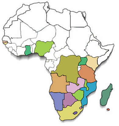 Африка страны