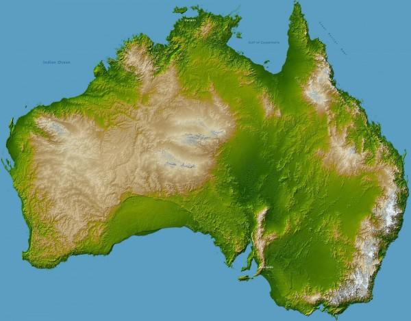 Характеристика австралии и океании