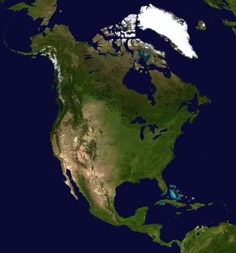Америка материк  Северная Америка материк
