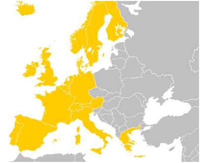 Европа Западная Европа