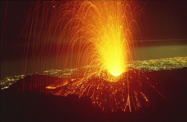 Этна Вулкан Этна