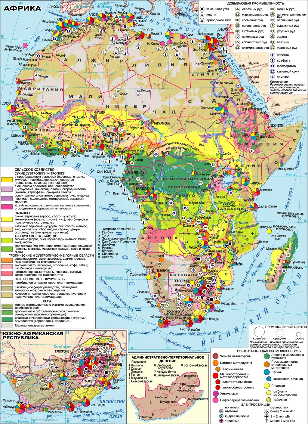 Prirodno Resursnyj Potencial Afriki