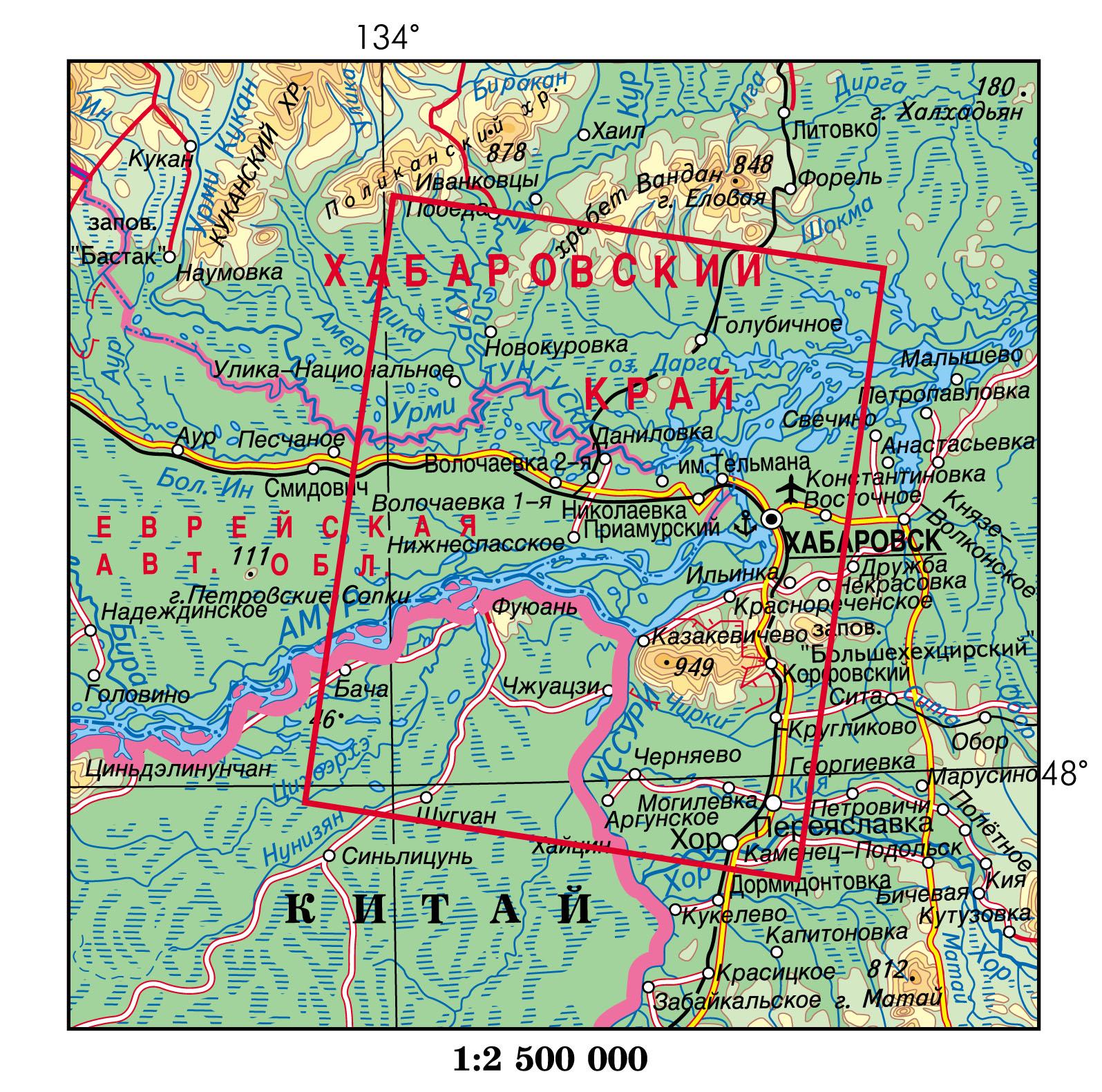 Магнитагорская хабаровск на карте