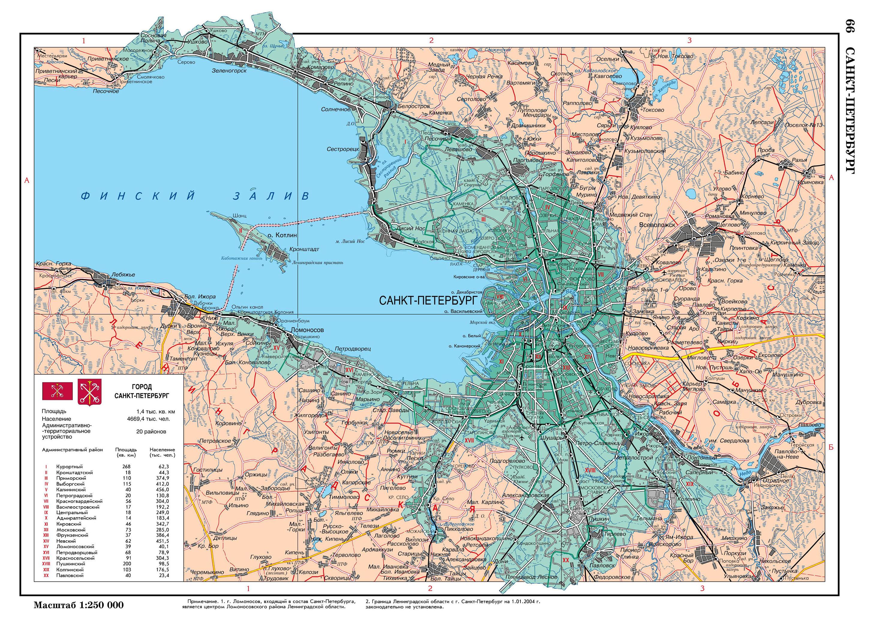 Санкт-петербург на карте россии с морями