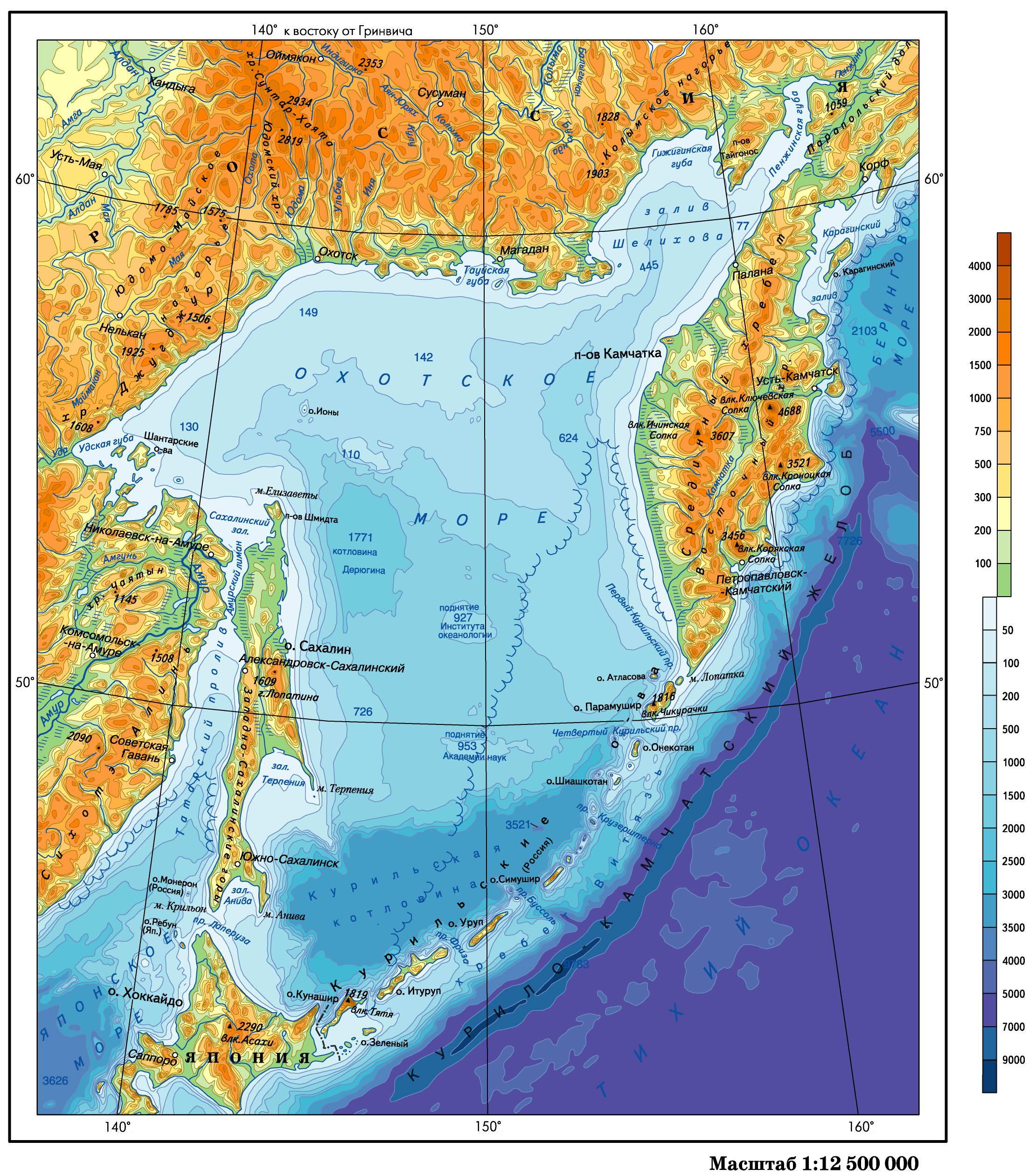 Побережье Японского моря, заливы, острова | Сайт ...
