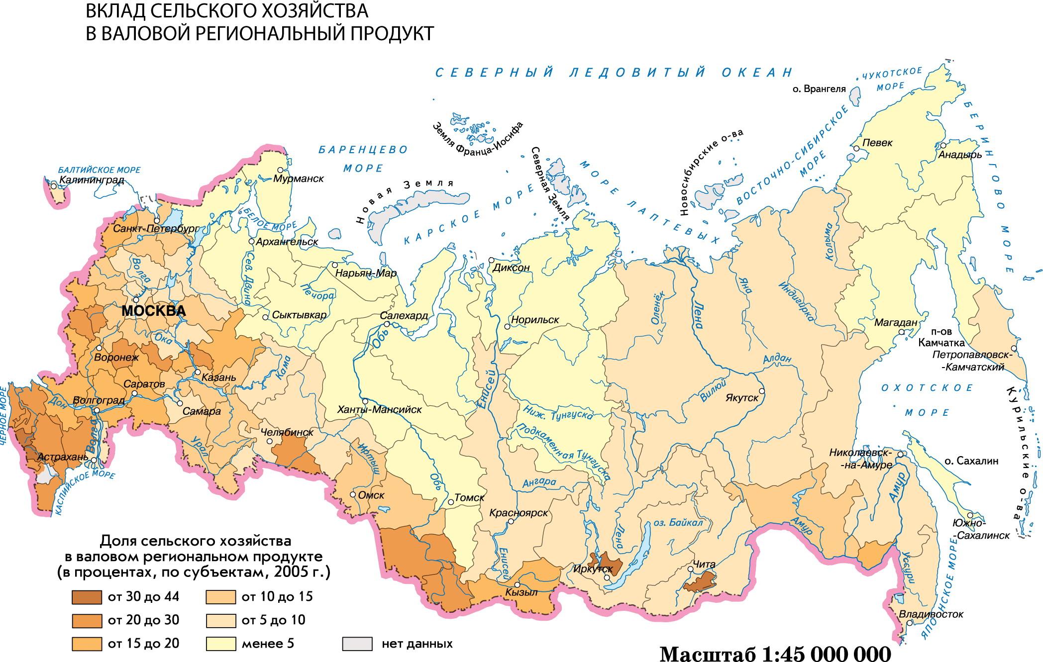 Сельское хозяйство в россии доклад 9258