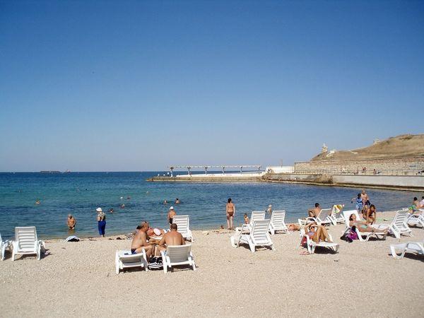 фото песочная бухта севастополь