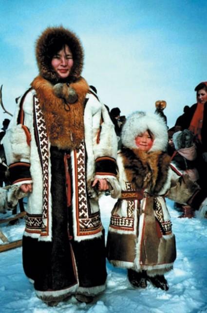 ненецкий национальный костюм фото мужской и женский замечательной мастера
