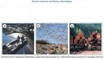 Экологические проблемы биосферы