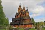Деревянная церковь в Урнесе (Норвегия)