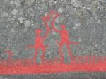 Наскальные рельефы в Тануме (Швеция)