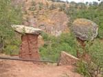 Каменные грибы Крым