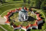 Церковь Святого Яна Непомуцкого в городе Ждяр-над-Сазавоу