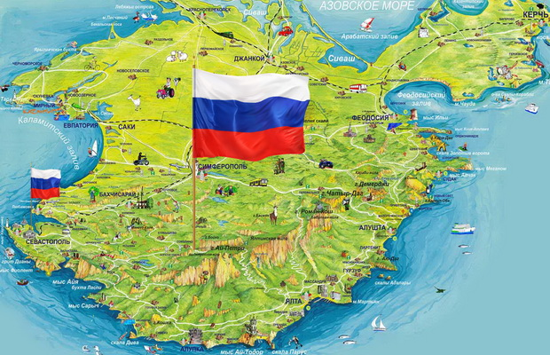 Политика: Пора ставить точку: Германия призывает признать Крым Россией