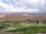 культурный ландшафт в долине Бамиан
