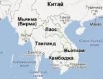 Какие страны расположены на полуострове Индокитай?