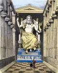 Где можно было увидеть статую Зевса?