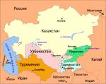 Где находятся страны Средней Азии?