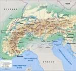 Какие страны расположены в Альпах?