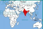 Где находится Индия?