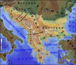 Какие страны расположены на Балканском полуострове?