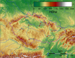 Какие горы есть в Чехии и Словакии?