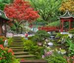 Как выглядит японский сад?