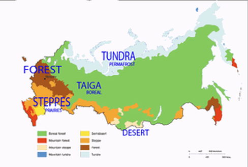 Loveluxleblog Russia Biome Map