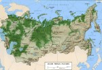 landform of Russia