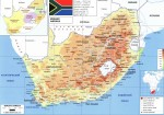 Карта ЮАР