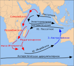 Географическое положение Индийского океана