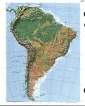 Геологическое строение и рельеф Южной Америки