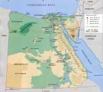 Географическое положение Египта
